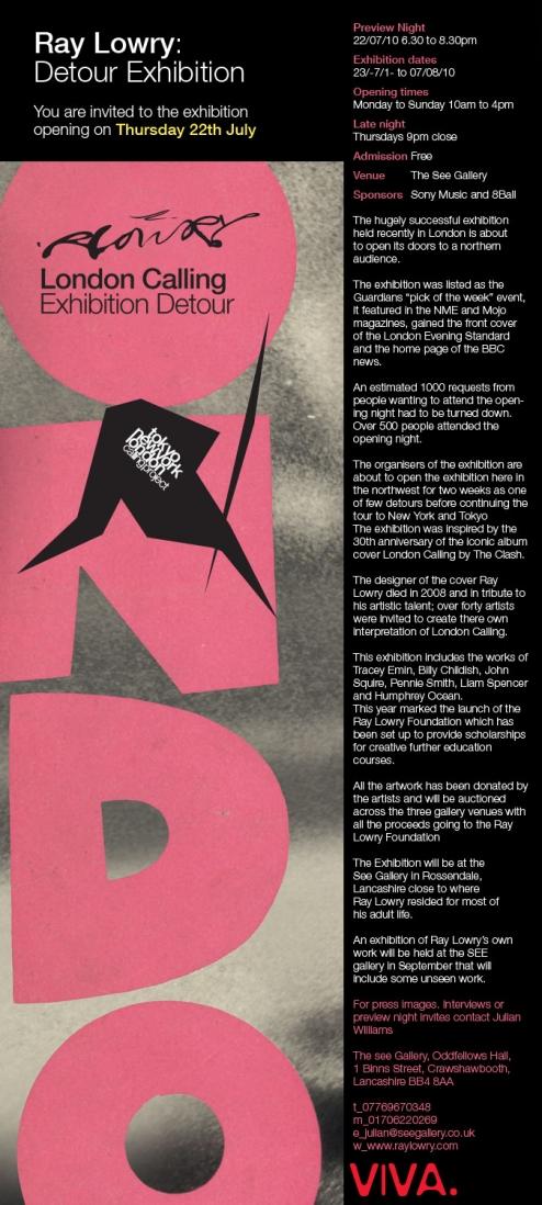London Calling flyer