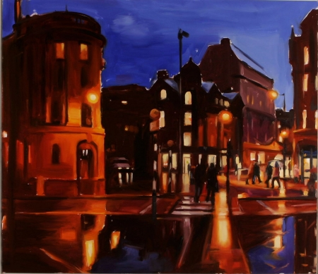 Albert Square Twilight