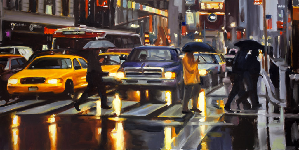 Times Square (Zebra Crossing)